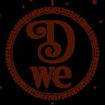 logo D-WE rond couleur
