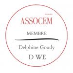 Macaron Assocem membre D-WE Toulouse