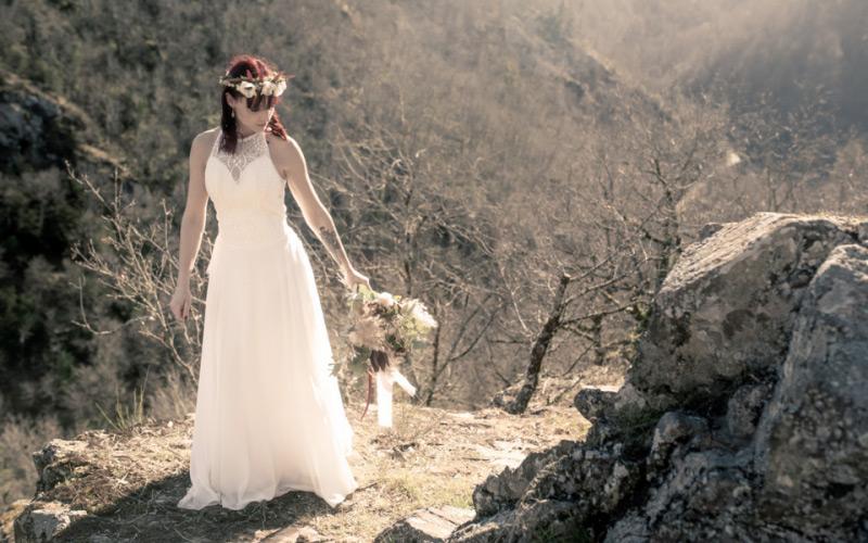 La mariée dans la forêt de Mazamet