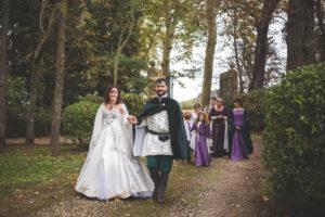 Mariage medieval fantastique
