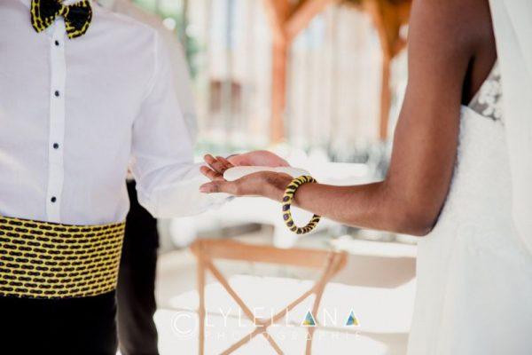 rituel des pierres blanches mariage Gabon